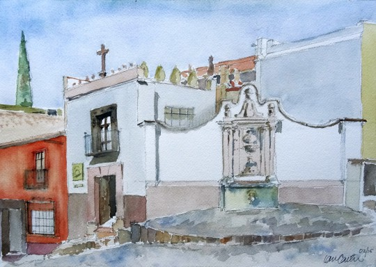 Corner of Hospicia and Barranca San Miguel de Allende